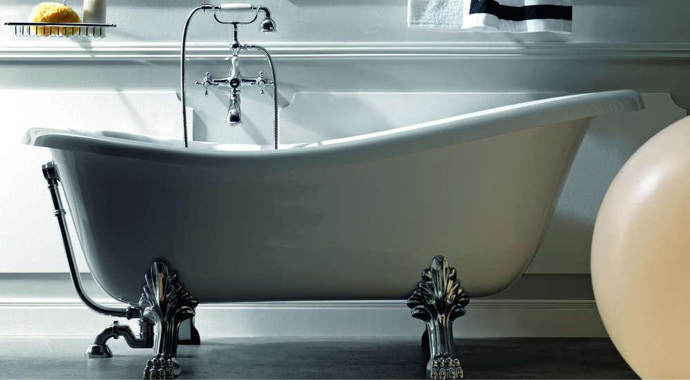 Badewanne Retro Freistehend Nostalgie Pur Fürs Klassische Bad